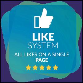 Likes System - cespiritual